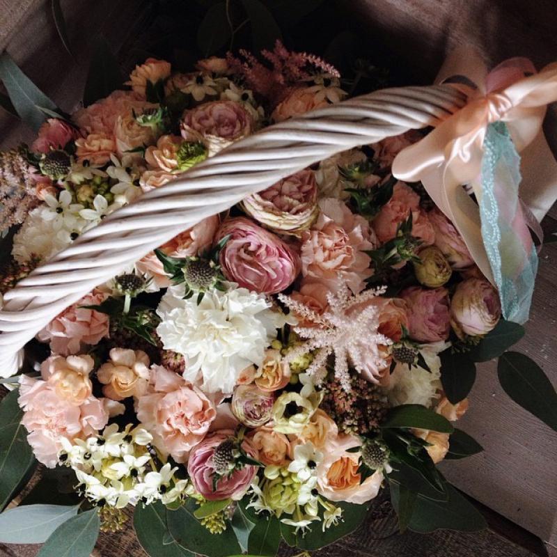 Цветы в корзине Полуночный забег