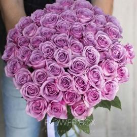 51 роза фиолетового оттенка