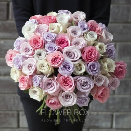 Букет из 51 Голландской розы